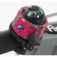 Firstbike Велозвонок Bell цвет: сompass pink