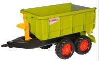 Rolly toys Container Прицеп для трактора 125166 салатовый