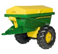 Rolly toys John Deere Streumax Прицеп 125111 зеленый