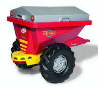 Rolly toys Streumax Trailer Прицеп 125128 красный