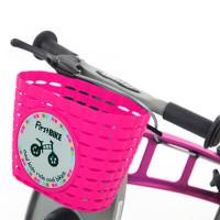 Firstbike Велосипедная корзина цвет: розовый