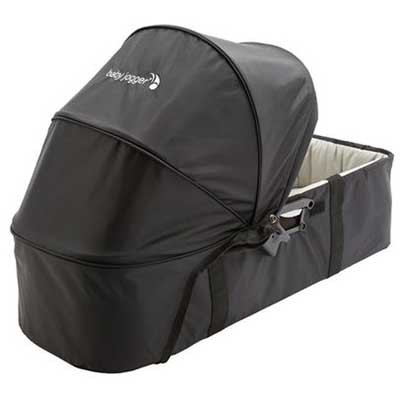 Люлька Compact pram Single/Double Black/Grey