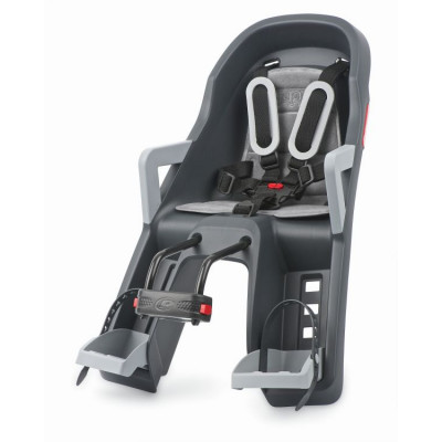 Детское велокресло Guppy Mini Baby Seat Baby Grey/dark grey 8639400004
