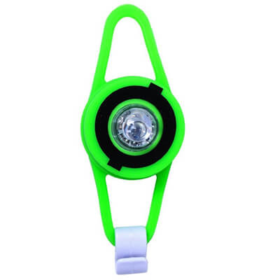 Ліхтарик на велосипед Multicolor Flash light led Green 525-106