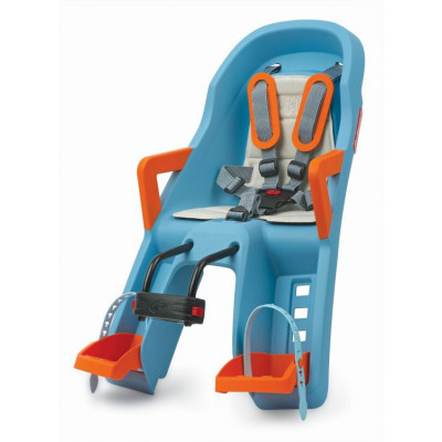 Детское велокресло Guppy Mini Baby Seat Baby blue/orang 8639400010