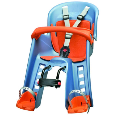 Детское велокресло Bilby junior front mounting Blue-orange 8632600001