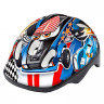 B-skin Шлем S Kidy Cars blue 54-59 HM-BS233